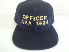 Vintage 1990's ASA Officer 1994 Snapback Hat New Era Made in USA 1990s