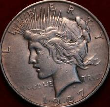 1927-D Denver Mint Silver Peace Dollar
