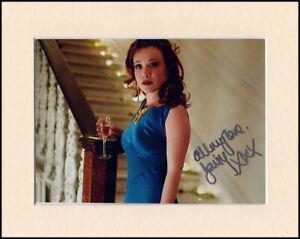 Daisy Lewis Churchills Secret Original Signed 10x8 Mounted Autograph Photo & COA