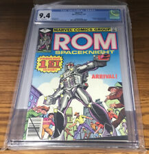 MARVEL COMICS GROUP ROM SPACEKNIGHT FABULOUS 1ST ISSUE CGC GRADED 9.4
