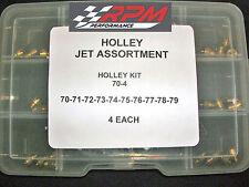 Holley Carburetor Jet Assortment Kit Holley Double Pumper 70-80 2 EACH 22-700QFT