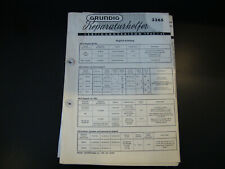 Original Service Manual  Grundig  3365