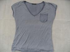 DRYKORN cooles Shirt blaugrau Gr. XS TOP 818