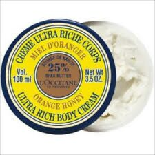 L'Occitane ORANGE HONEY  Ultra Rich Body Cream 100g New & Sealed