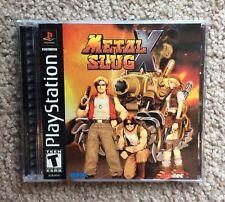 Metal Slug X (Sony PlayStation 1, 2001) PS1 Complete Rare Near Mint