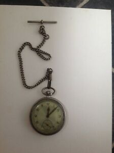 vintage pocket watch and chain spares repairs