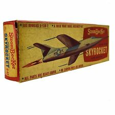 StromBecker Douglas D-558-2 SKYROCKET NASA Wooden Model Airplane Kit Balsa C-42
