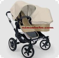 4 Wheels Double Prams with Rain Cover