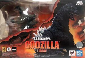 S.H.MonsterArts Godzilla 1989 Godzilla vs Biollante Bandai Spirits NEW