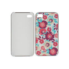 Smartprotectors! Hardcase Cover for IPHONE 4/4S Silver Flowers Floral
