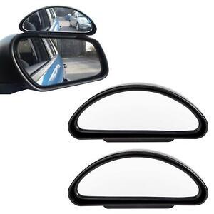 2 x Blind Spot Mirror Adjustable Car Van Blindspot Towing Reversing Driving