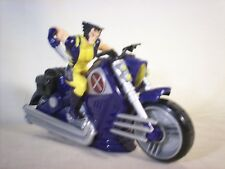 "9"" WOLVERINE X Cruiser Motorcycle Marvel 2008 Hasbro X-MEN Lights and Sound"