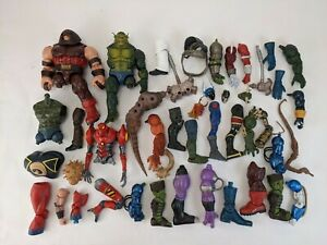 Mixed Lot Marvel Legends BAF Collect n Connect DCUC CNC #3 Toy Biz Hasbro