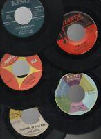 "R&B Doo-wop Soul Blues Collection Lot of 20 Vintage 7"" 45rpm Singles"