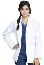 """Dickies Eds Professional Whites 28"""" Lab Coat-New-Free Ship"""