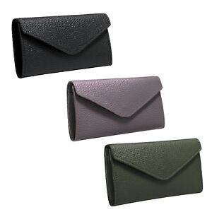 Lady Women's Leather Clutch Wallet Purse Long Card Holder Bifold Handbag Case