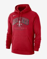 Mens Nike Houston Rockets Hoodie Sweater Pullover Basketball NBA Harden Russell
