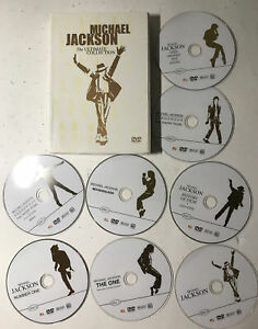 MICHAEL JACKSON The Ultimate Collection ( 8  discs  Box Set)   Very Good