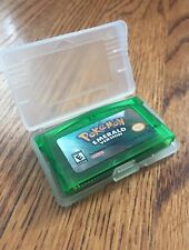 Pokemon Emerald For Nintendo DS GBA Gameboy With Clear Case