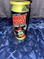 Vintage Disney Mickey Mouse Penn Tennis Balls  Sealed in Original Can