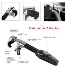 Auto Steering Wheel Lock Universal Security Car Anti Theft Alarm Three-direction