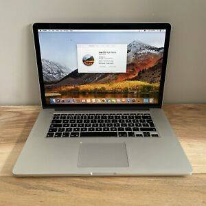 """Apple MacBook Pro 15"""" 2015 2.5ghz i7 16gb 512gb SSD AMD R9 Cycle Count 14 (2443)"""