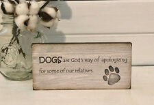 dog gifts - pet lover gifts - dog lover gifts - pet signs - dog signs plaques