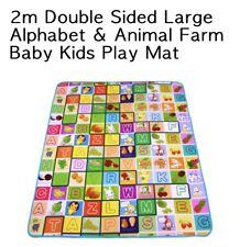 Oz 1.9mx1.8m Xxl Nontoxic Baby Kids Play Mat Floor Rug Picnic Cushion Crawling