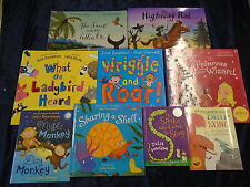 9 FANTASTIC BOOKS by JULIA DONALDSON - UK POST £3.25 *PAPERBACKS*