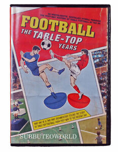 FOOTBALL - THE TABLE TOP YEARS DVD. PART 1. THE STORY OF SUBBUTEO & OTHER GAMES.