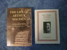 THE LIFE OF ARTHUR MACHEN by John Gawsworth 1st ed TP fine w/EXTRA DVD.  NEW!