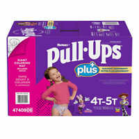 Huggies Pull-Ups Plus Training Pants For girls