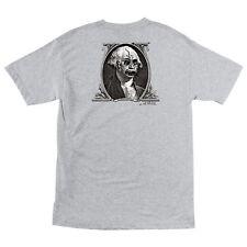 Santa Cruz Jason Jessee DOLLAR Skateboard T Shirt ASH XL