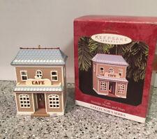 Hallmark Ornament-Nostalgic Houses & Shops-Cafe-1997