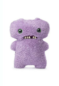 NEWEST 2019 Light Purple Gap Tooth McGoo Fuggler Stuffed Animal Violet Plush 9""