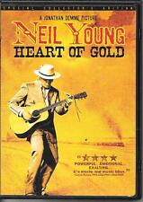 DVD ZONE 1--HEART OF GOLD - NEIL YOUNG--JONATHAN DEMME