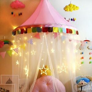 Cute Toy Tent For Kids Mosquito Net Cartoon Children Baby Room Decor For Bed