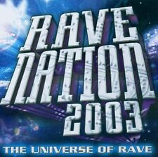 Rave Nation 2003-The Universe of Rave (BMG) Talla 2XLC, Snap!, Master B.. [2 CD]