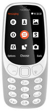 "Nokia 3310 Mobile Phone Grey 2g 2.4"" Display 2mp Camera Unlocked SIM"