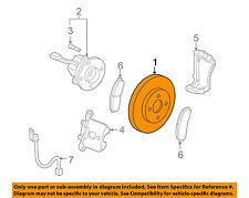 GM OEM Front Brake-Disc Rotor 19303829