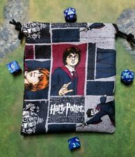 Harry Potter, Ron Weasley and Hermione Granger dice bag