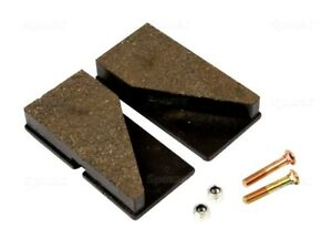 BRAKE PADS 43mmx85mm FOR JCB 525-67 530-120 530-95 528-70 540-120 SEE LIST