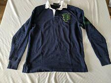 Polo Ralph Lauren Authentic Long Sleeve Rugby Shirt Men's sz S w/ Patch 67 VGC!