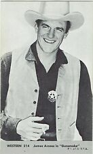 James Arness Gunsmoke #214 Vintage Western Penny Arcade Card