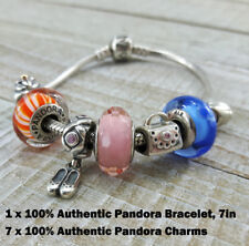 Size 7 Inch Colorful 100% Pandora ALE 925 Sterling Silver Bracelet 7 Original Ch