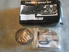 BANDE ECHAPPEMENT exhaust wrap kit black 25ft - Vance & hines 18610622 ( 26523 )