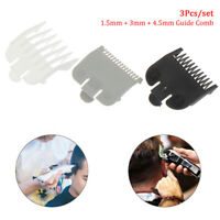 3Pcs Hair Cutting Guide Comb Hairdressing Tool Set Limit Comb Hair Trimmer SBDA