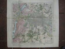 Landkarte Berlin Blatt 6 Berlin ca 1914 Landesaufnahme Friedrichshain Spandau