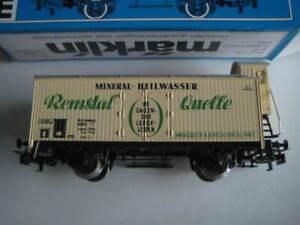 Marklin H0 4678-8801 Remstal Quelle Mineral Heilwasser wagon w/ brakeman's cab