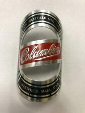 """NOS vintage WESTFIELD Columbia Mfg Co bicycle Head Badge large version 3"""" tall"""